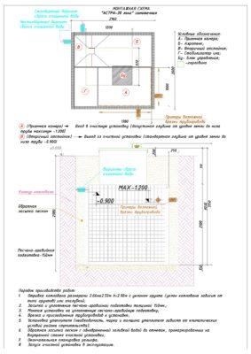 Монтажная схема ЮНИЛОС АСТРА 30 Лонг