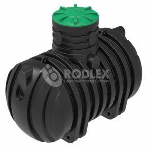 Накопительная емкость под септик РОДЛЕКС 4000 литров пластиковая для стоков.