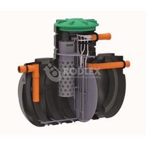 Септик без откачки _ станция очистки сточных вод BioBox Aero8